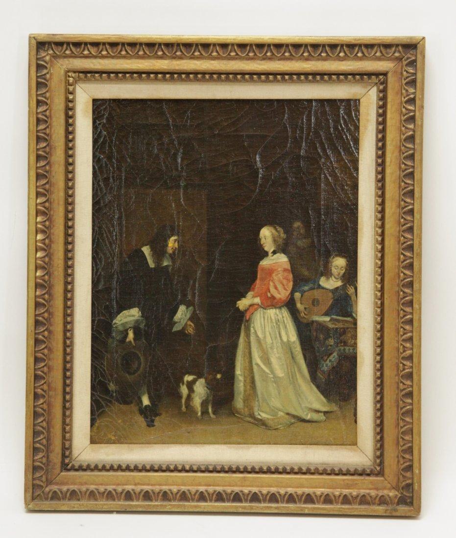 European Oil on Canvas