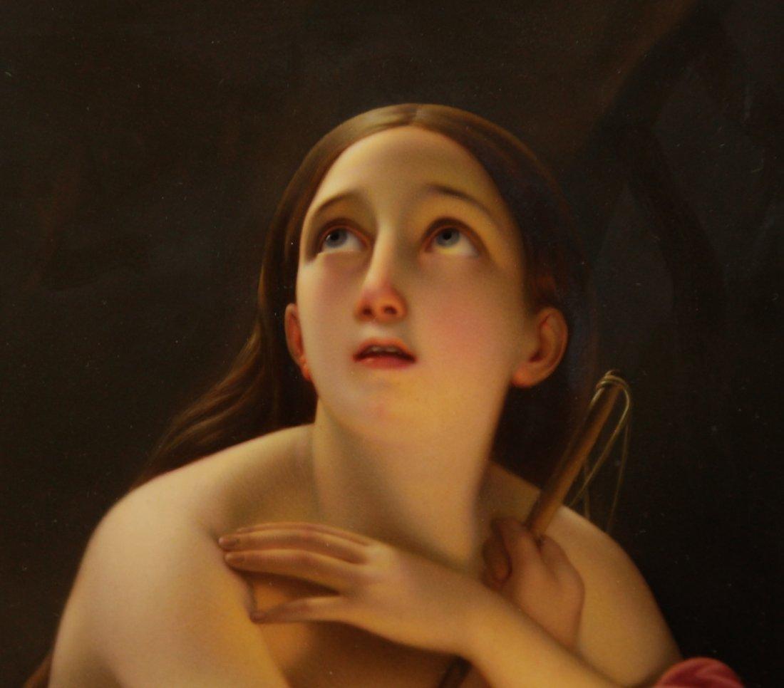 K.P.M. Fantastic Quality Semi-Nude Lady Porcelain - 4