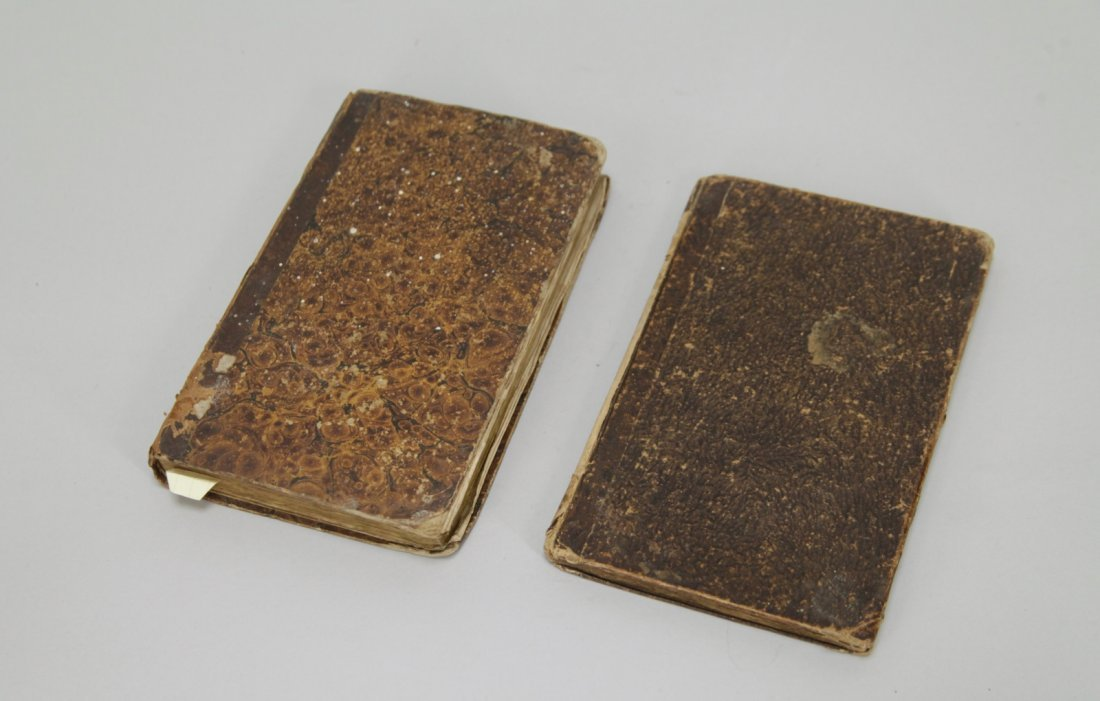 Two Judaica Old Books in Hebrew Dated 1821&1827