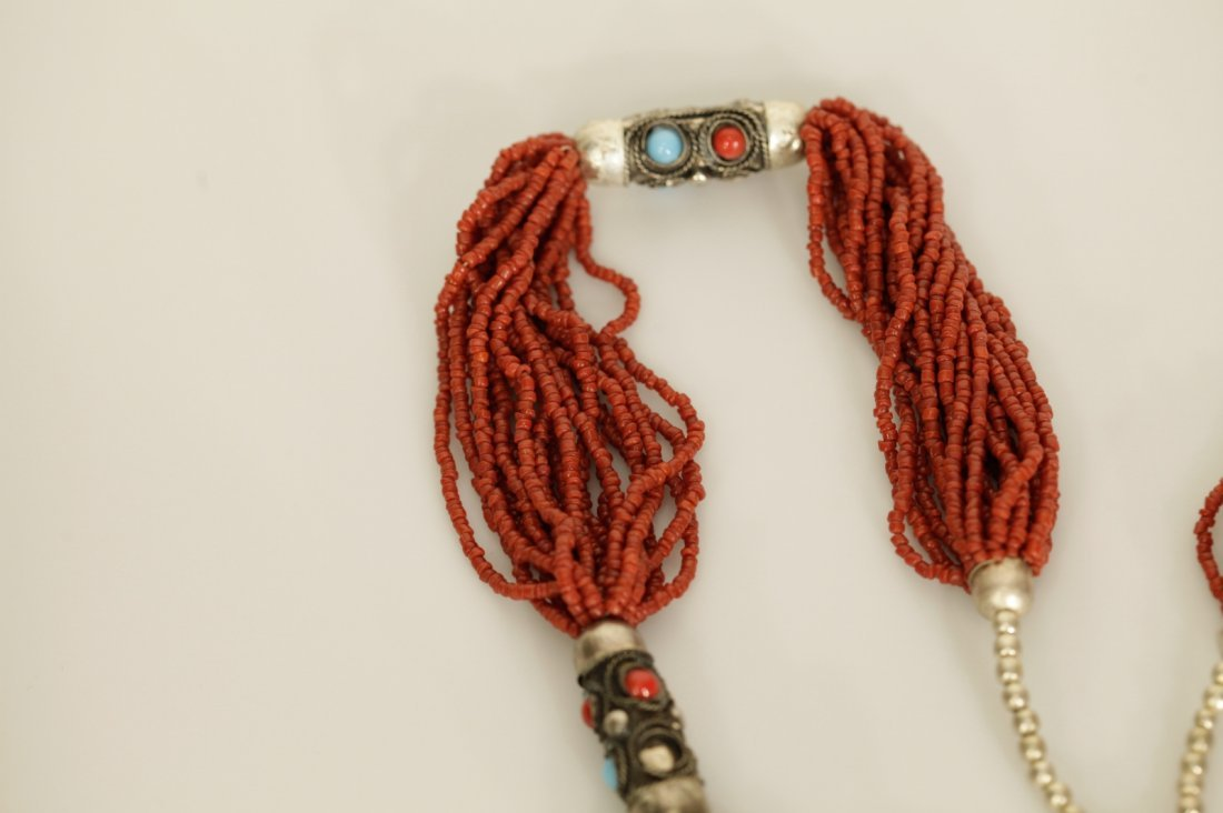Chinese Coral Necklace - 4