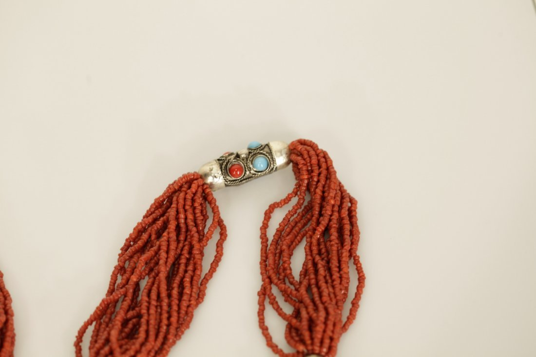 Chinese Coral Necklace - 6