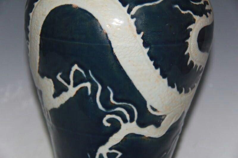 Chinese Blue/White Porcelain Floral Vase - 6