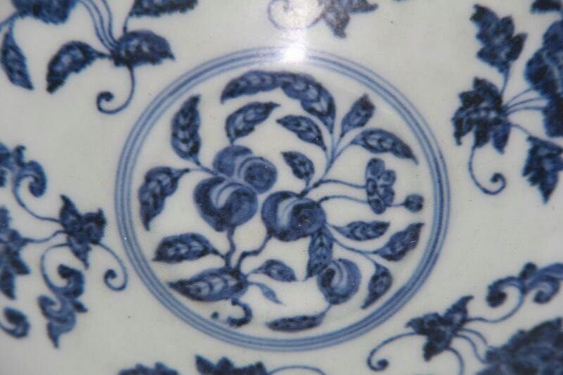 Chinese Blue/White Porcelain Bowl, Marked - 6