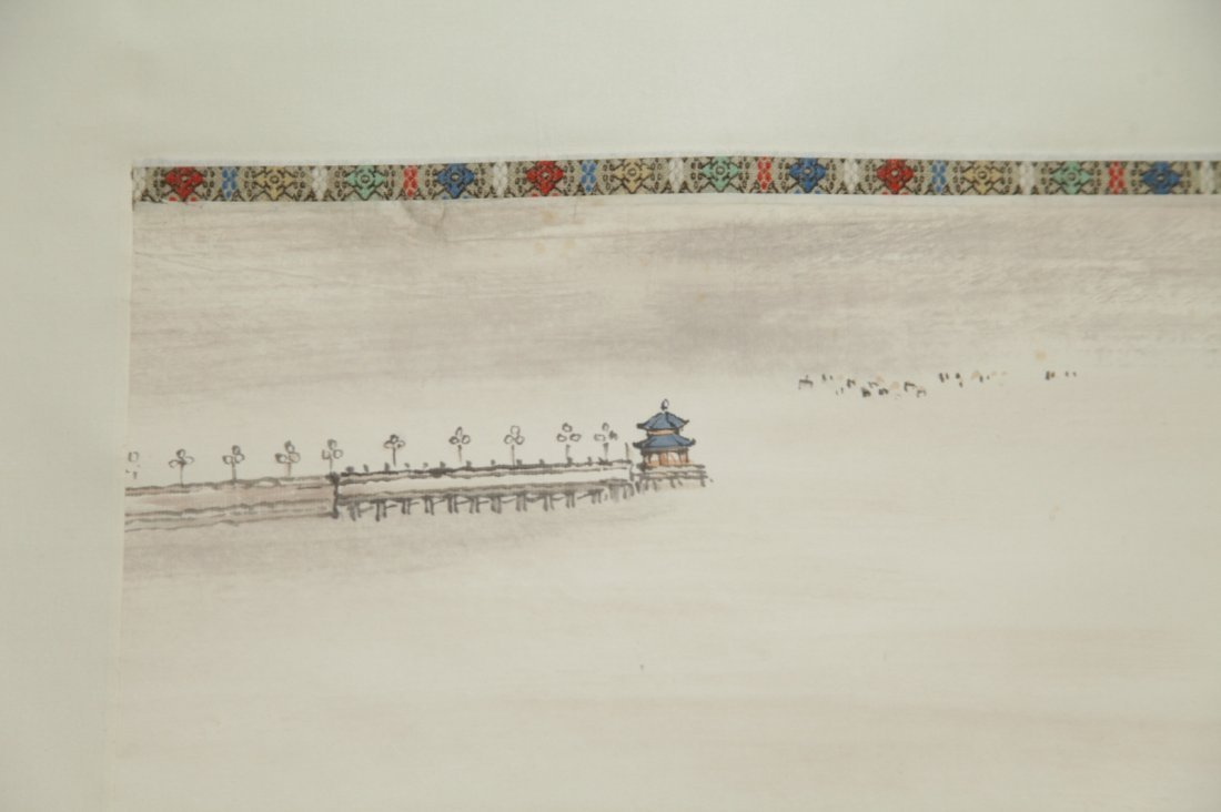 Chinese Ink/Color Scroll Painting - 3