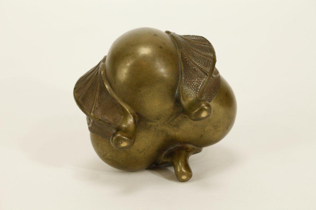 Japanese Meiji Period Bronze Censer - 7