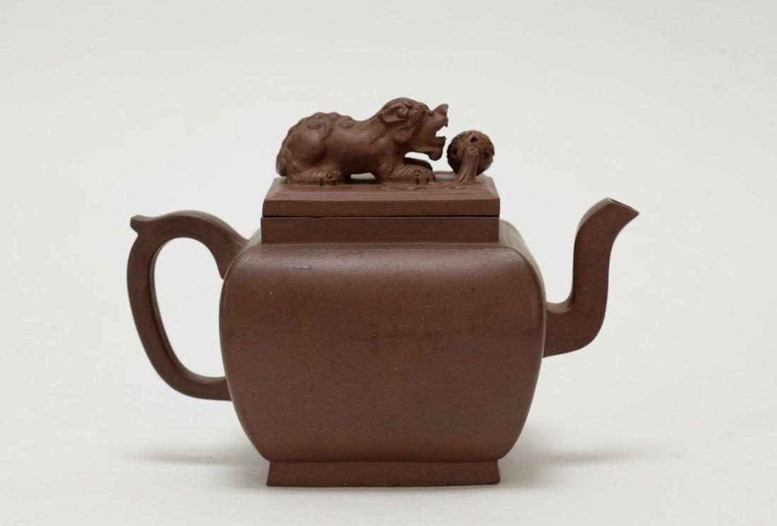 Chinese Yixing Zisha Teapot, 18th C.