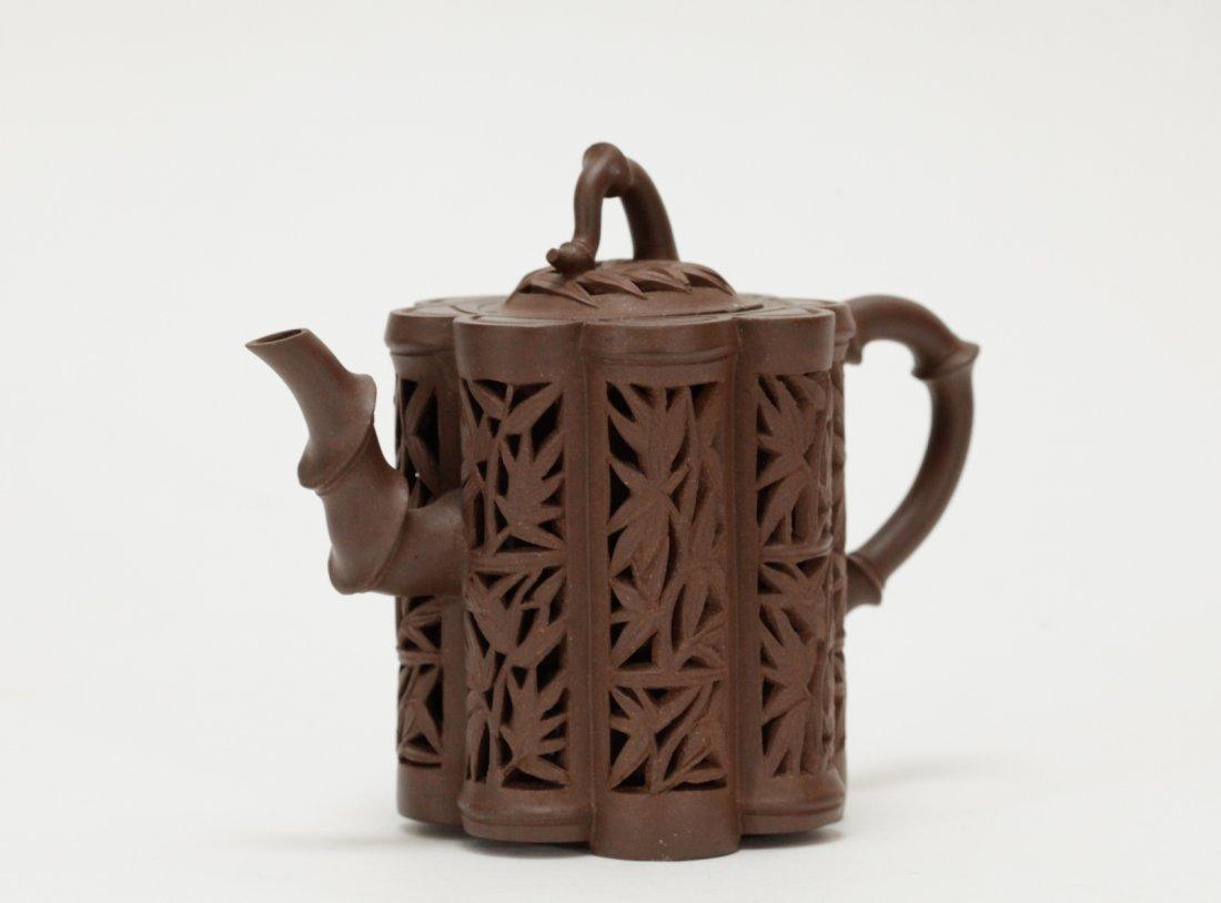 Chinese Yixing Zisha Teapot, Kang Xi Period - 2