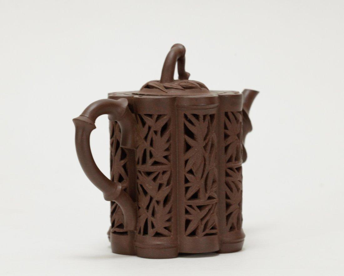 Chinese Yixing Zisha Teapot, Kang Xi Period - 4