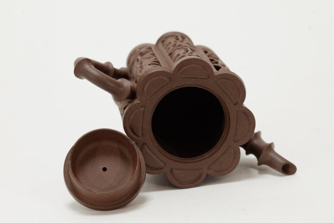 Chinese Yixing Zisha Teapot, Kang Xi Period - 5