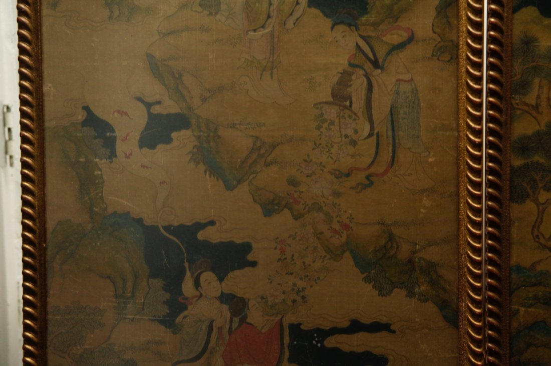 Pair of Chinese 19/20th C. Paintings - 4