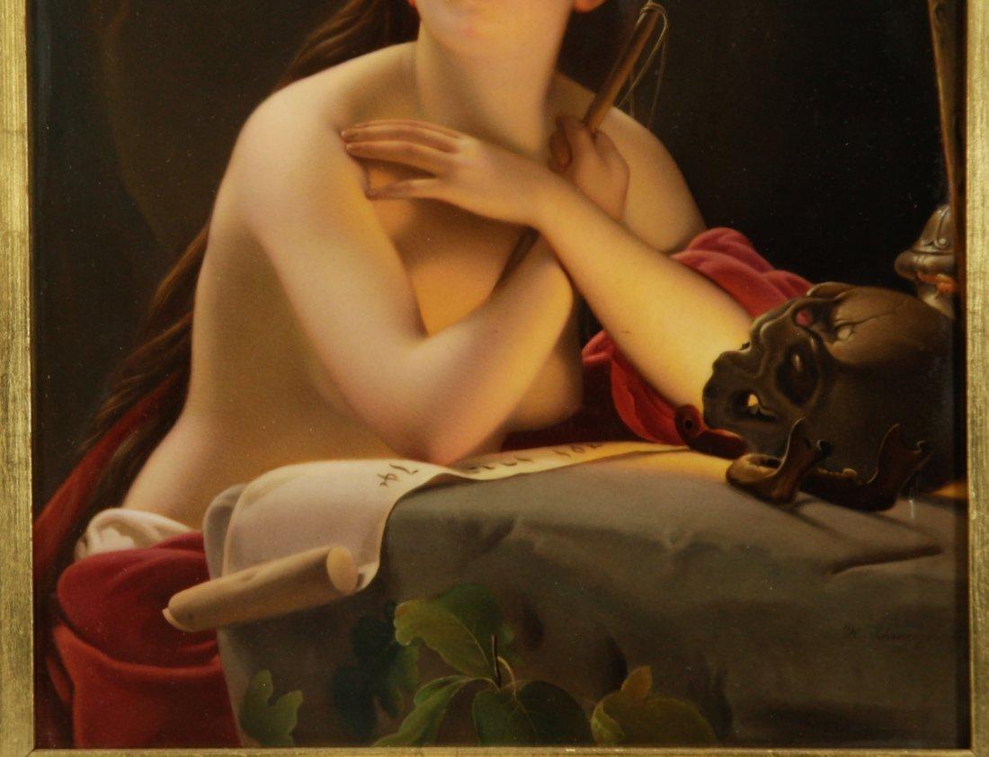 K.P.M. Fantastic Quality Semi-Nude Lady Porcelain - 3