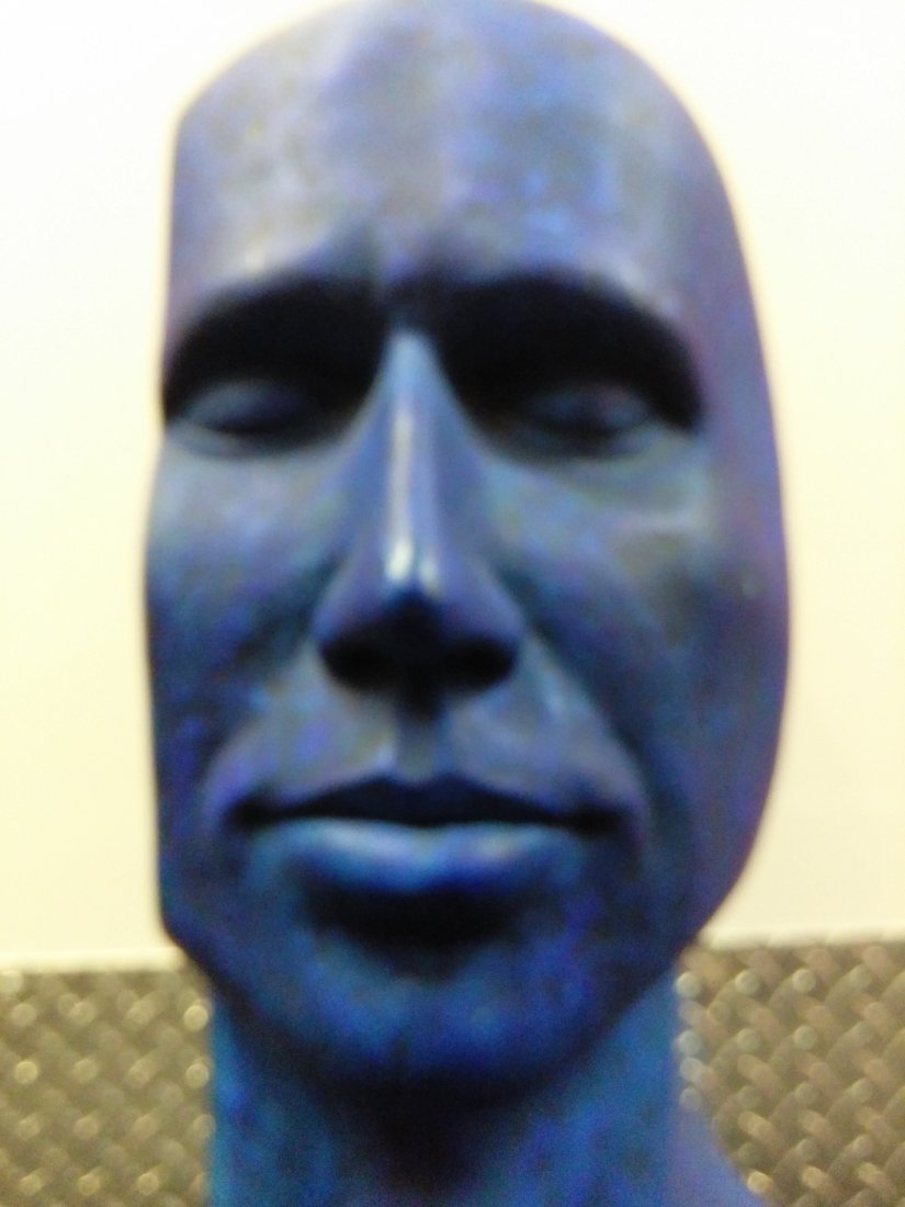 Plaster Made of a Blue Man - 3