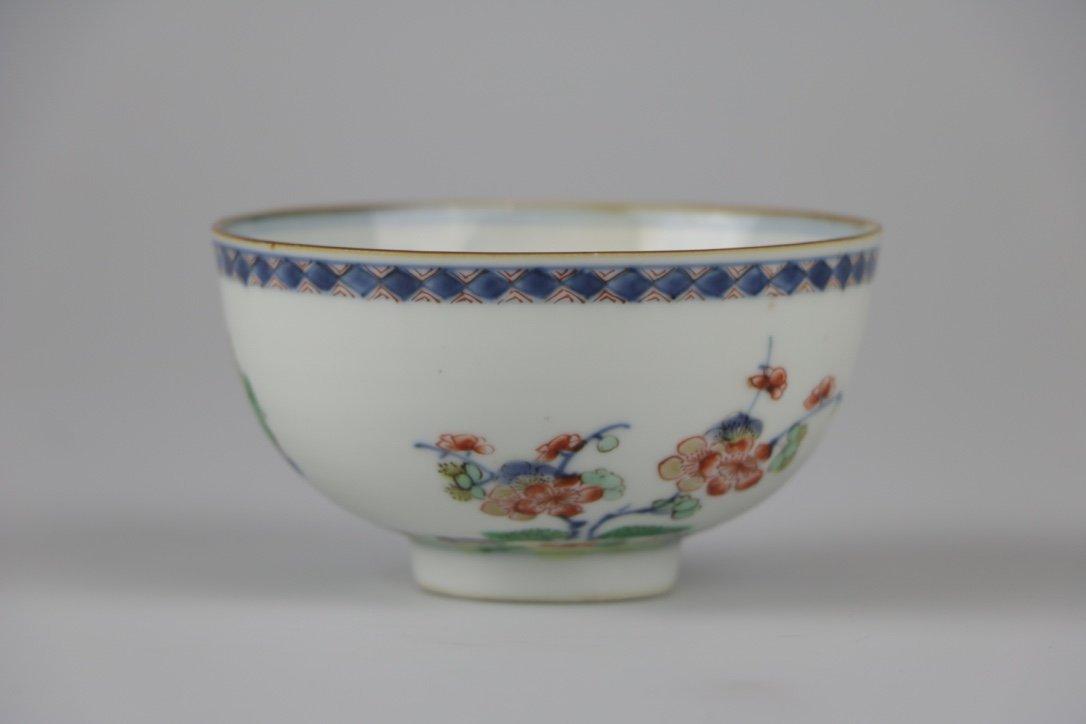 Famille Rose glaze bowl, 18th century