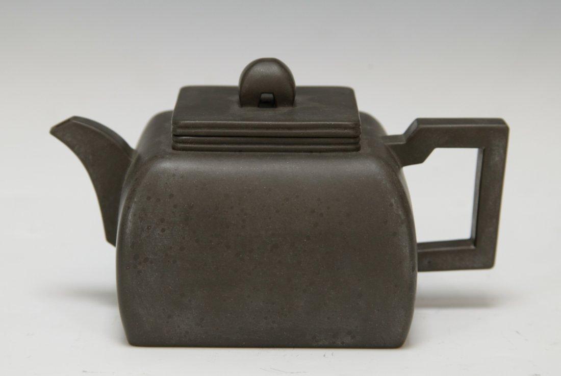 """Chinese Yixing Zisha Teapot, Marked """"Shi Xiao Ma"""""""