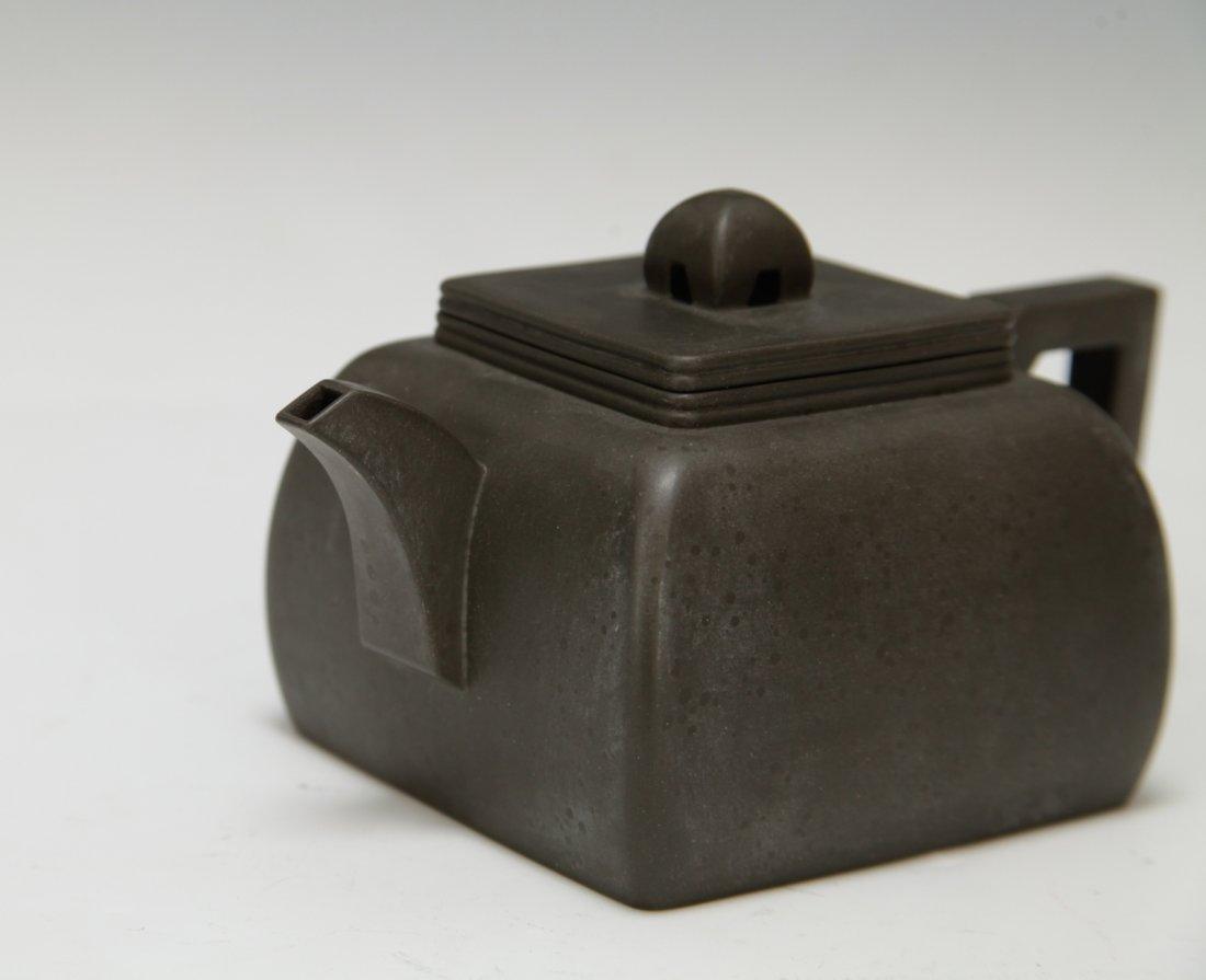"""Chinese Yixing Zisha Teapot, Marked """"Shi Xiao Ma"""" - 2"""