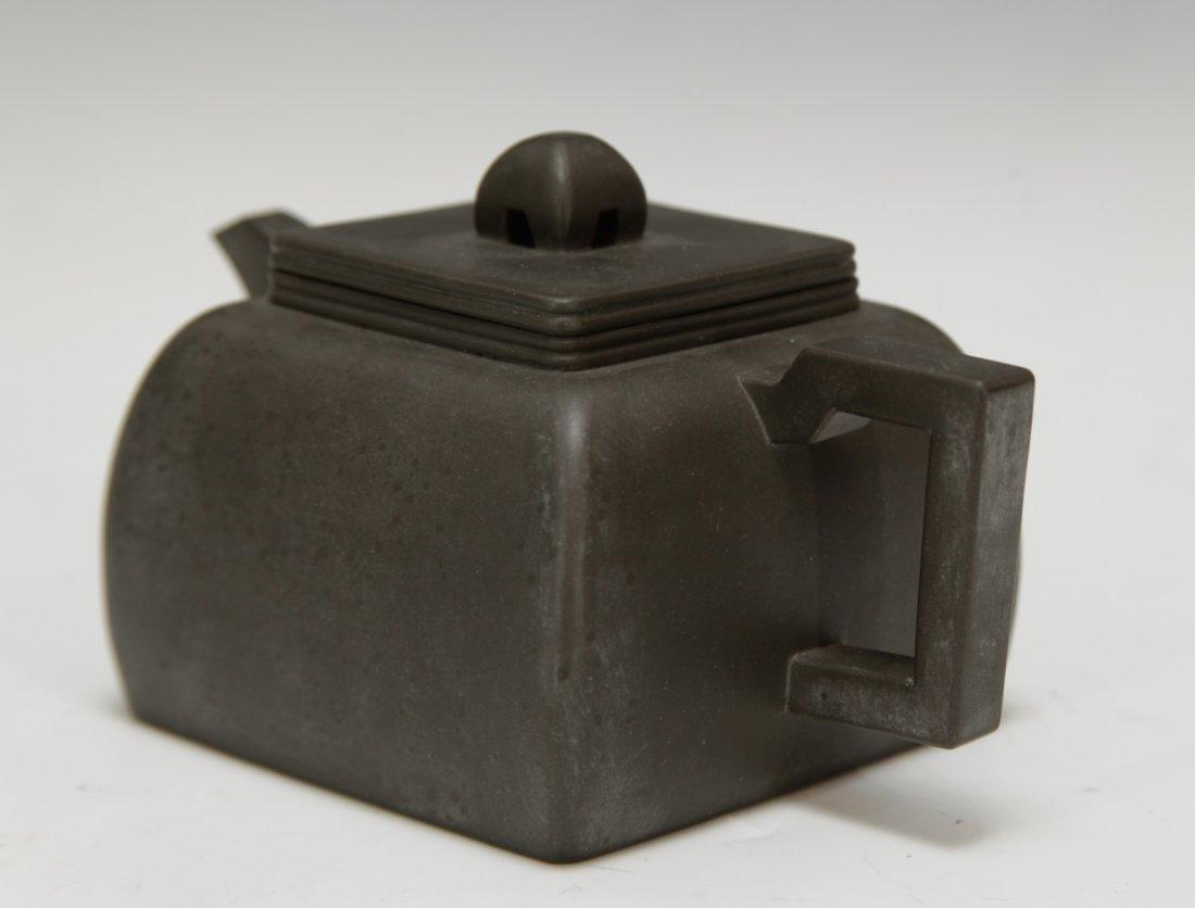 """Chinese Yixing Zisha Teapot, Marked """"Shi Xiao Ma"""" - 3"""