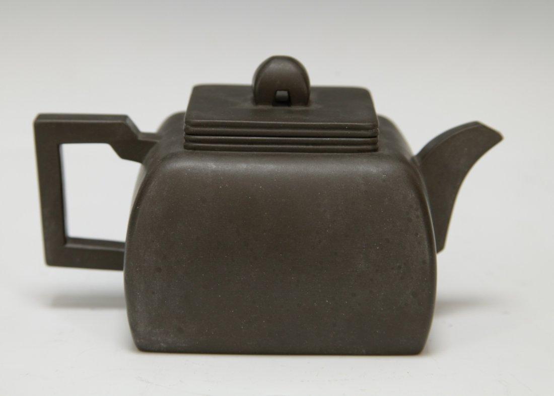 """Chinese Yixing Zisha Teapot, Marked """"Shi Xiao Ma"""" - 4"""