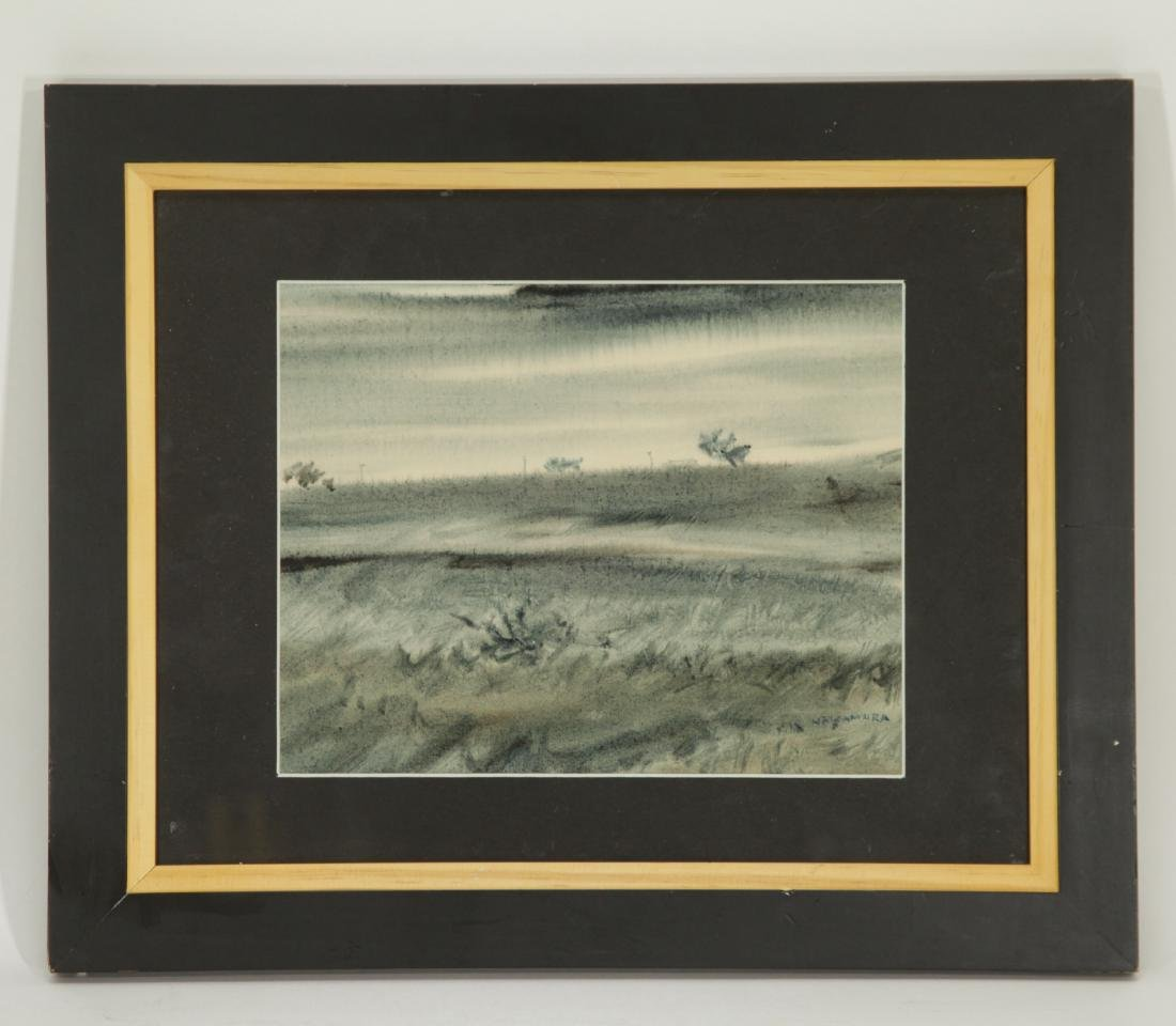Kazuo Nakamura, Watercolor on Paper, Signed