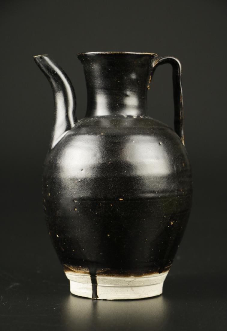 Song Dynasty Black Glazed Ewer