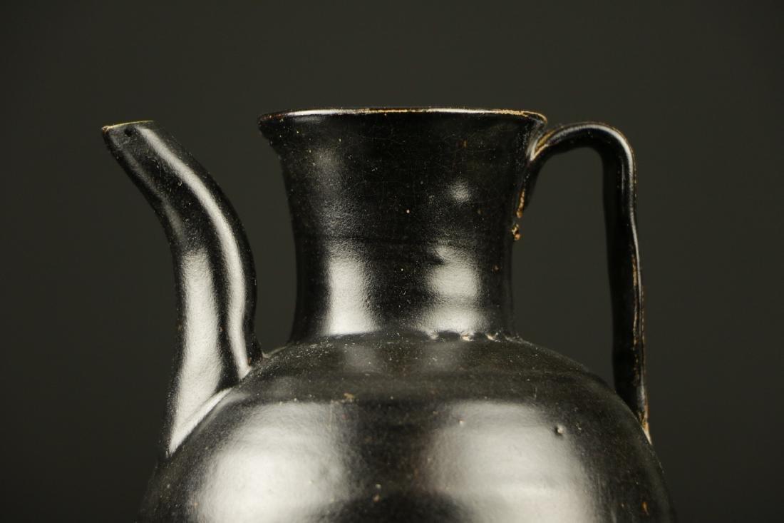 Song Dynasty Black Glazed Ewer - 2