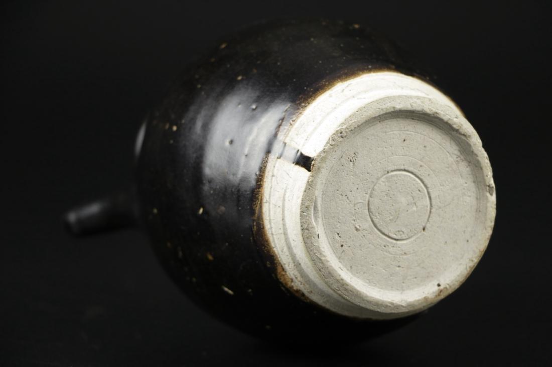 Song Dynasty Black Glazed Ewer - 5
