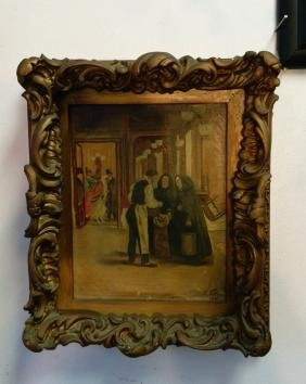 Oil on Canvas, w/ Wood Frame, Signed & Dated