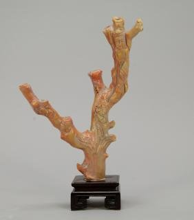 Coral Carving Figural