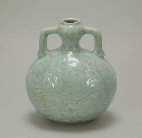 Qing Dynasty Chinese Celadon Porcelain Water Pot