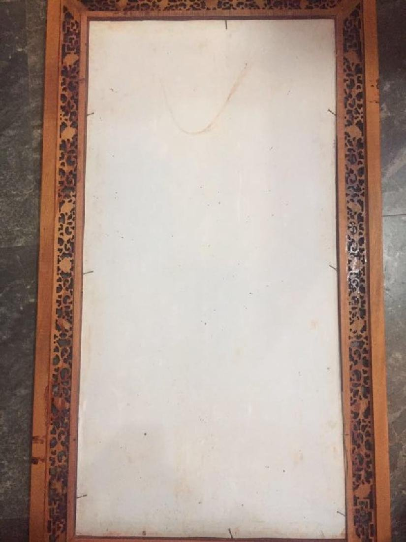 Chinese Famille Rose Porcelain Plaque w/ Frame - 9