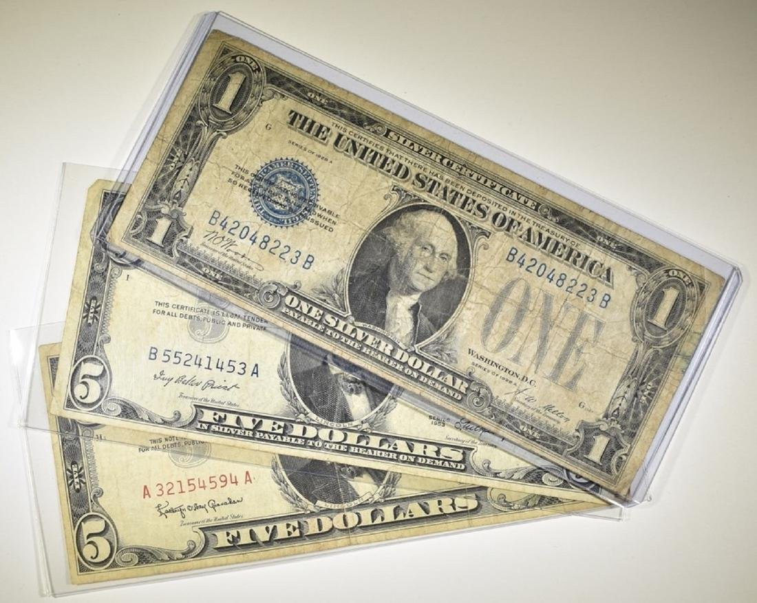 U S  CURRENCY LOT: - Jul 02, 2019 | Silver City Auctions in OH