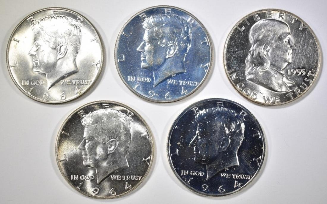 MIXED HALF DOLLAR LOT