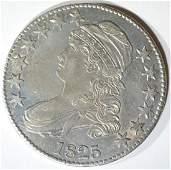 1825 BUST HALF DOLLAR CH AU