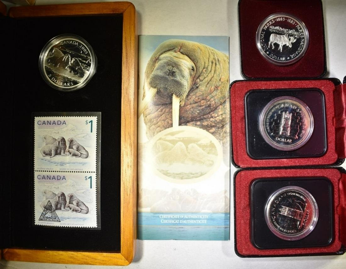 CANADIAN SILVER COIN LOT: