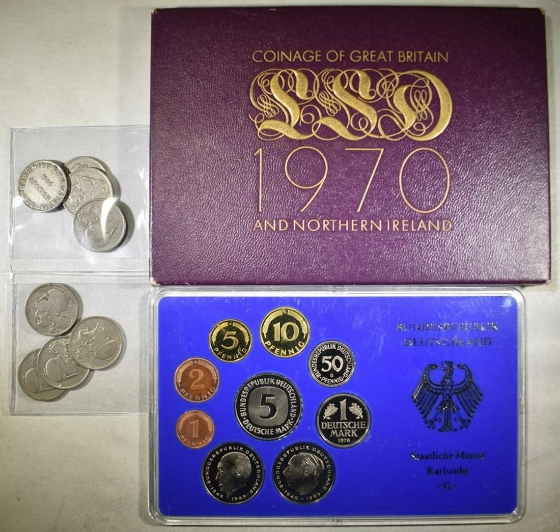 FOREIGN COIN LOT: