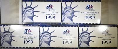 51999 US PROOF SETS ORIG PACKAGING
