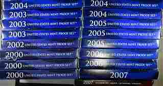 US PROOF SETS FROM THE 2000S