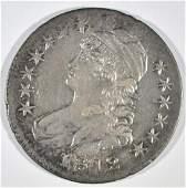 1812 BUST HALF DOLLAR AU
