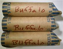 $6 MIXED DATE BUFFALO NICKELS