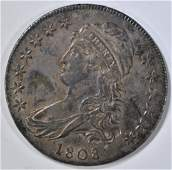 1808 BUST HALF DOLLAR CH AU