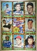 CRACKER JACKS CARDS- TOPPS 1982 SIGNED AS IS