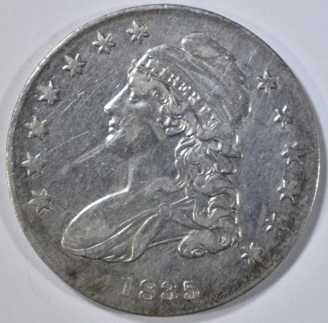 1835 BUST HALF DOLLAR XF+