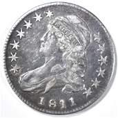 1811 BUST HALF DOLLAR XF