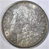 1896S MORGAN DOLLAR AUBU LOOKS BU
