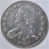 1829 BUST HALF DOLLAR XF+