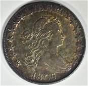 1806 BUST HALF DOLLAR CH AU