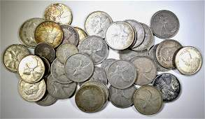 $8.50 FACE VALUE 80% SILVER CANADIAN COINS