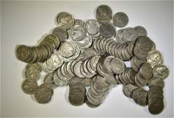125-CIRC BUFFALO NICKELS WITH DATES