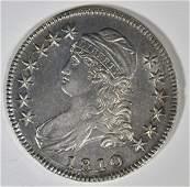 1810 BUST HALF DOLLAR CH AU