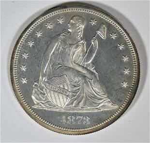 1873 SEATED LIBERTY DOLLAR CH/GEM PROOF