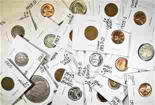 MIXED LOT OF 20 COINS: